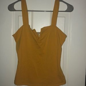 Express Yellow Tank Top